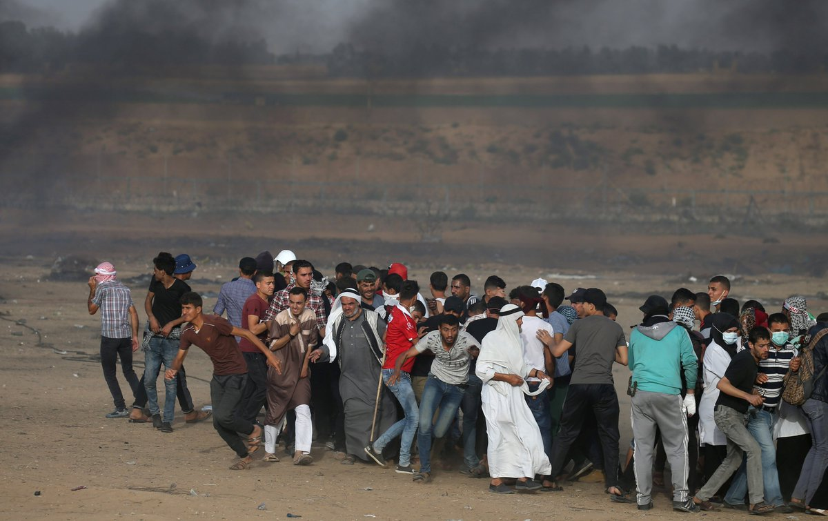 Israel's Supreme Court rejected a plea from 6 human rights groups to declare opening fire on unarmed civilians unlawful. 100+ Palestinian protesters in Gaza have been killed by Israeli fire since March.