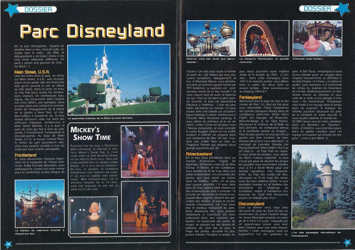 [Nostalgie] Mes articles de presse sur Disneyland Paris DeDoiGFXcAAnJna