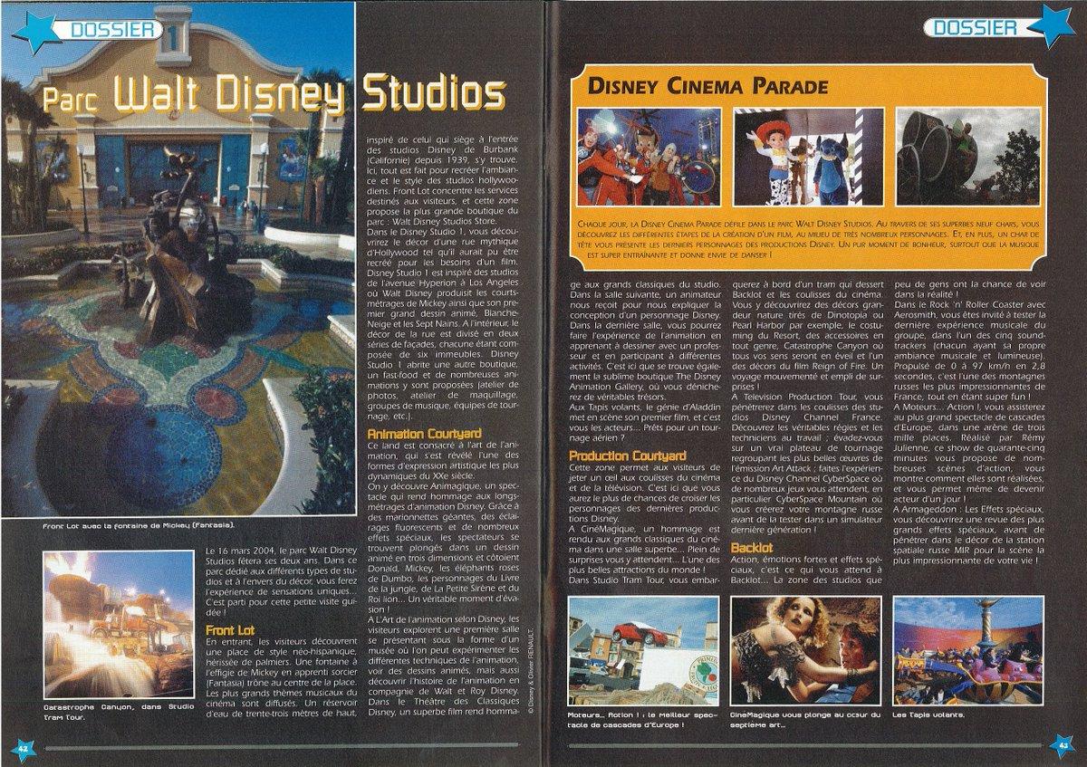 [Nostalgie] Mes articles de presse sur Disneyland Paris DeDop0JXkAIO8mG