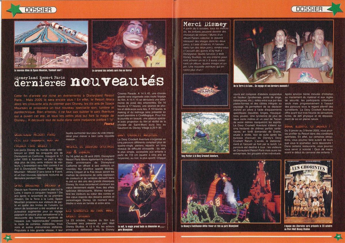 [Nostalgie] Mes articles de presse sur Disneyland Paris DeDp3CeXkAA_R9R