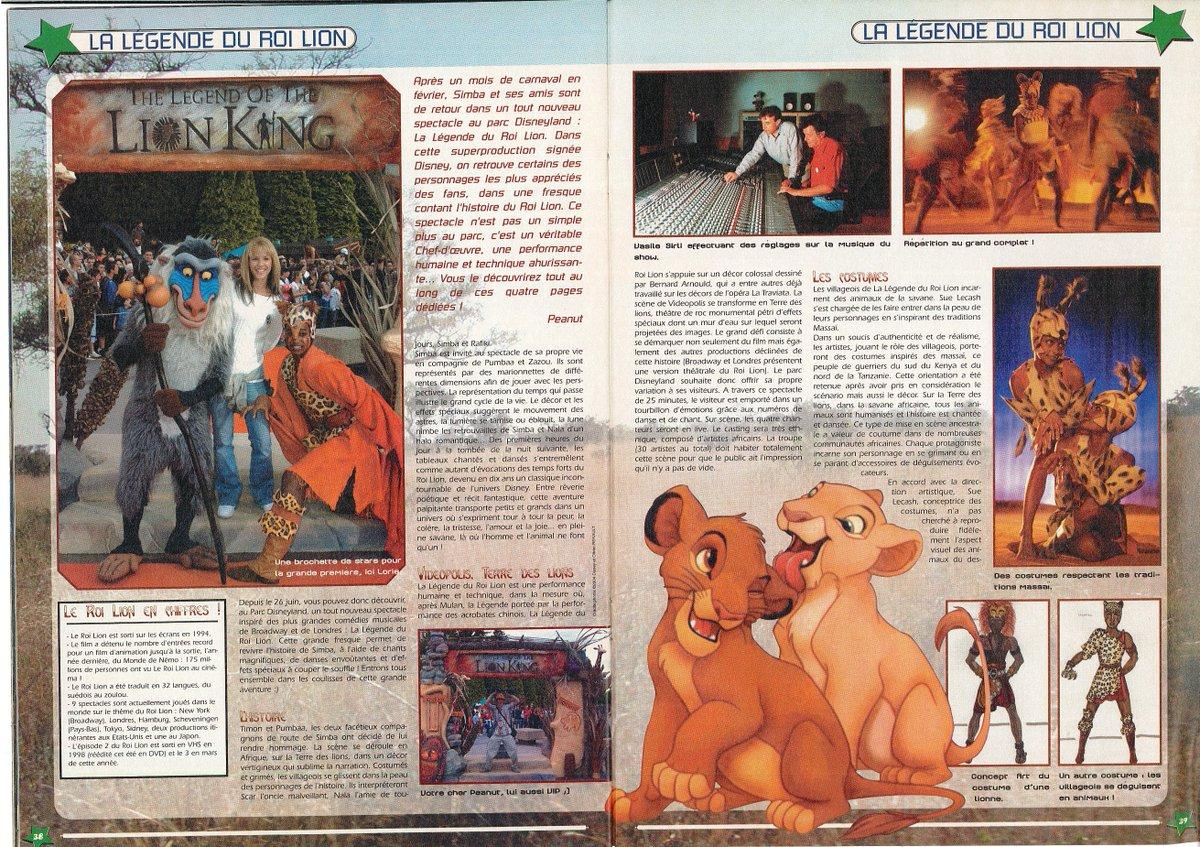 [Nostalgie] Mes articles de presse sur Disneyland Paris DeDpG5XW0AEpre7