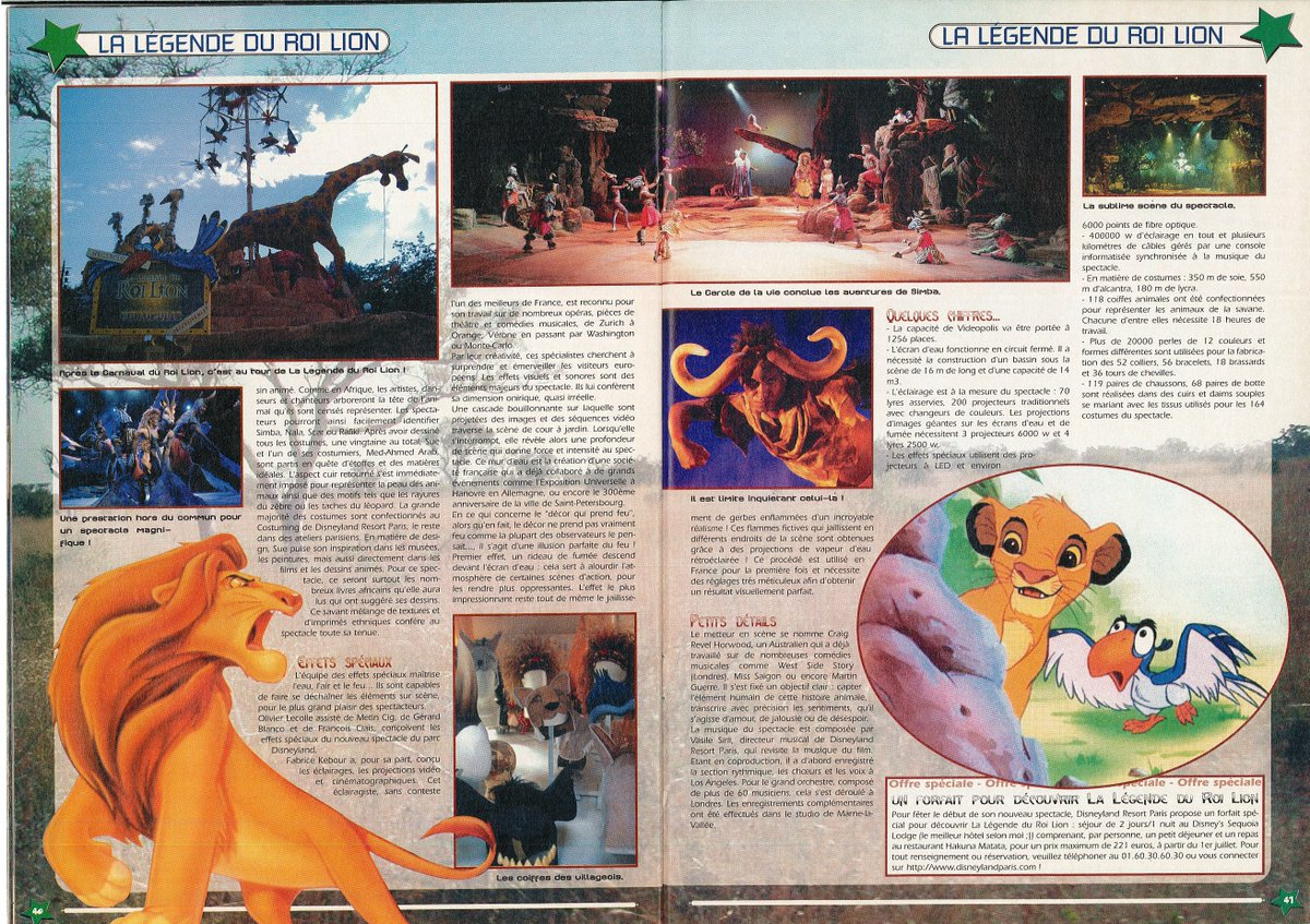 [Nostalgie] Mes articles de presse sur Disneyland Paris DeDpL9vW4AA6wi2