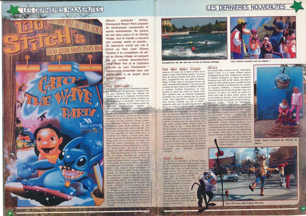 [Nostalgie] Mes articles de presse sur Disneyland Paris DeDpQfGXUAAvT2_