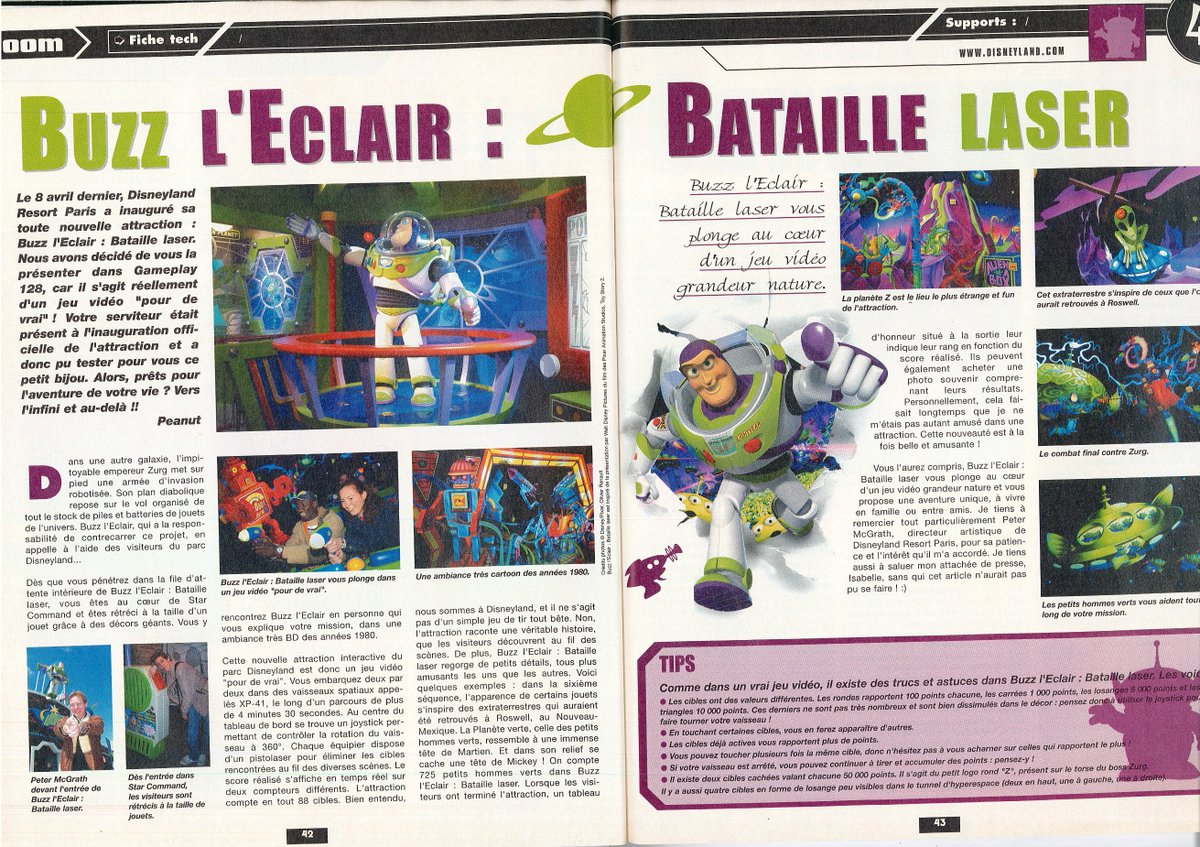 [Nostalgie] Mes articles de presse sur Disneyland Paris DeDqkTiWAAAKcvA