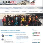 Image for the Tweet beginning: The @EUROVOLC website is under