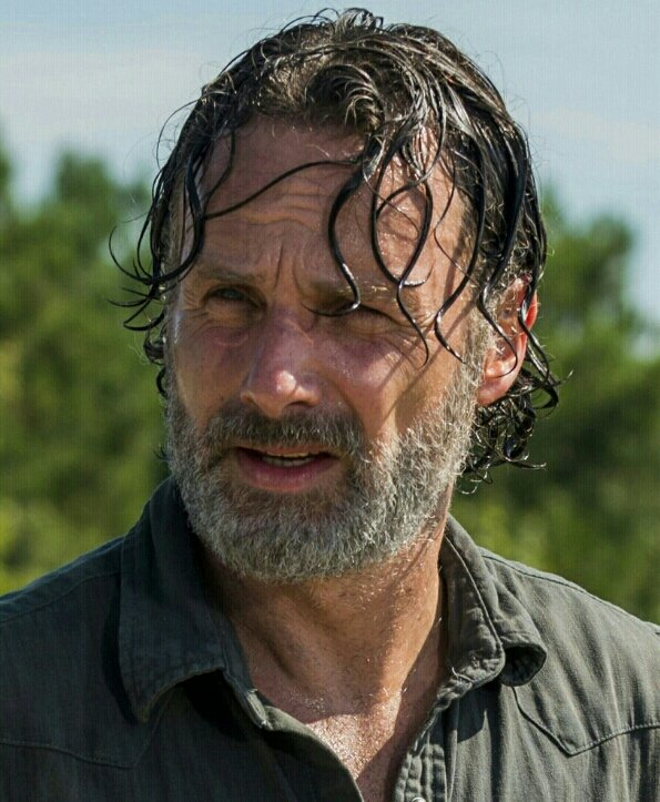 #AndrewLincoln as #RickGrimes in #TheWalkingDead Season 7, Episode 9 &quot;Rock in the Road&quot; #TWD   Gene Page/AMC <br>http://pic.twitter.com/lRDTK9s4Wk