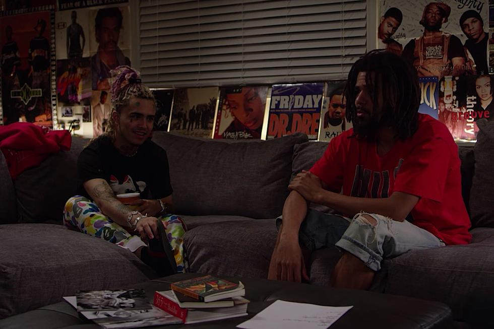 Watch J. Cole and Lil Pump Interview Each Other https://t.co/utBo7H4rzm
