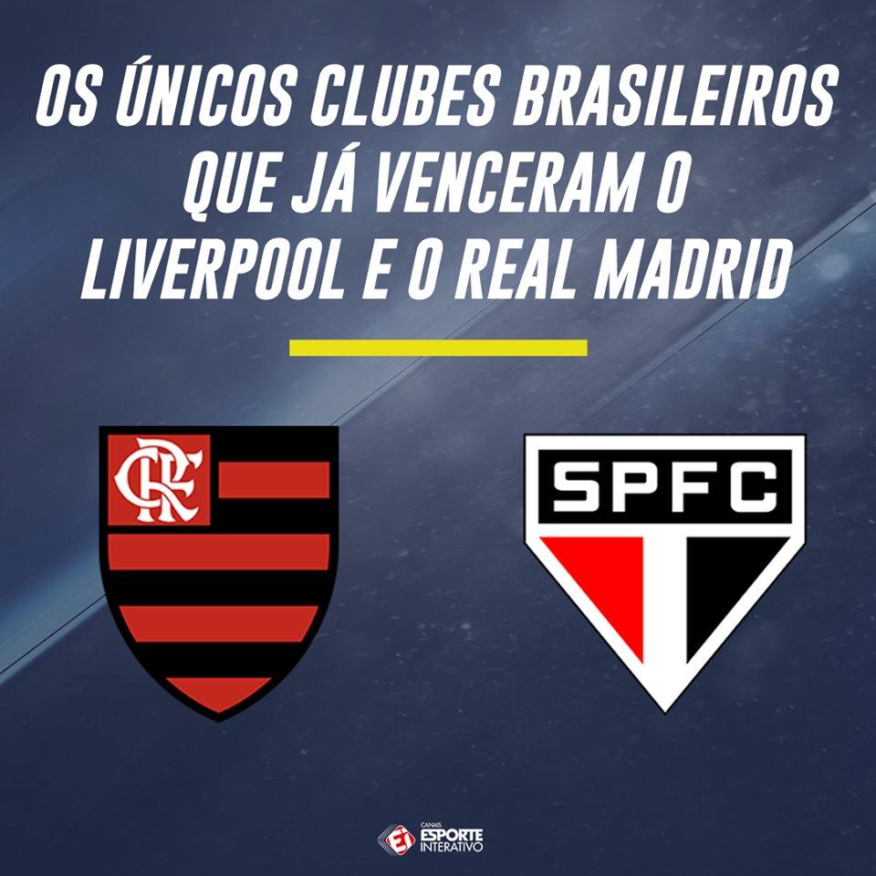 Esses são os ÚNICOS brasileiros que já venceram os dois finalistas da Champions!! Pouca moral para o Rubro-negro e para o Tricolor paulista?
