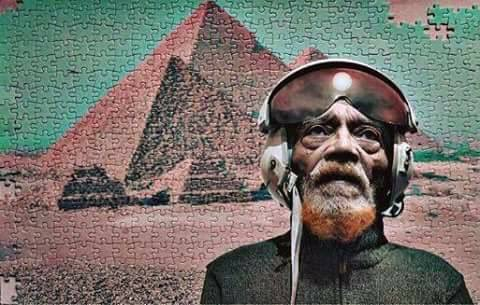 Marshall Allen Sun Ra Arkestra Space Captain - Arrival day 25 May 1924 Space is the Place. <br>http://pic.twitter.com/KabDABsYim