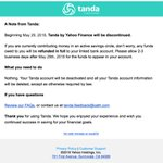 Yahoo shuts down social savings app Tanda only months after launch https://t.co/RMuu8xvAir by @sarahintampa