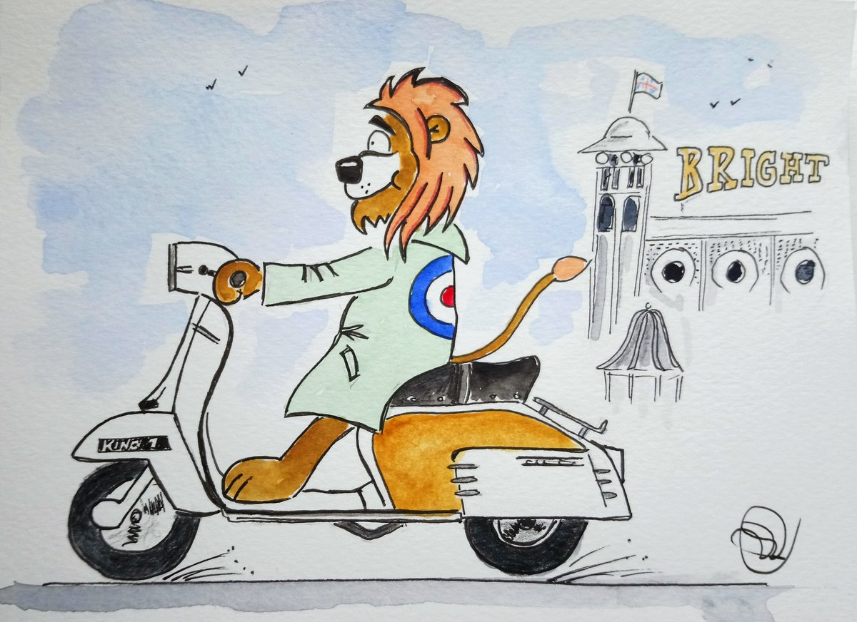 c8390bb8ad03 A Lambretta with a touch of  gamboge. We are the mods