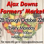 Image for the Tweet beginning: This Monday!The Farmer's Market Opens!