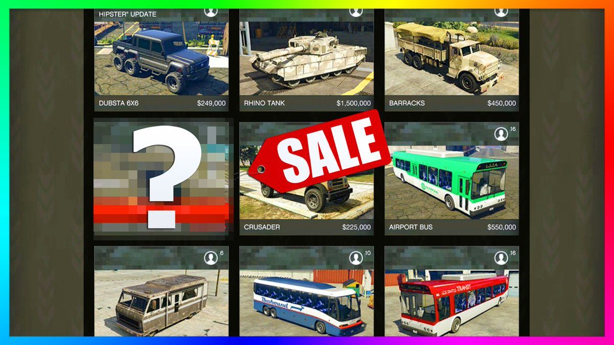 The BEST Vehicle In #GTAOnline Is On Sale Right Now &amp; You 100% NEED To Buy It!  https:// youtu.be/7M-On2a4x0U  &nbsp;    #GTAV #GTA5<br>http://pic.twitter.com/7L7Zf0AsBK
