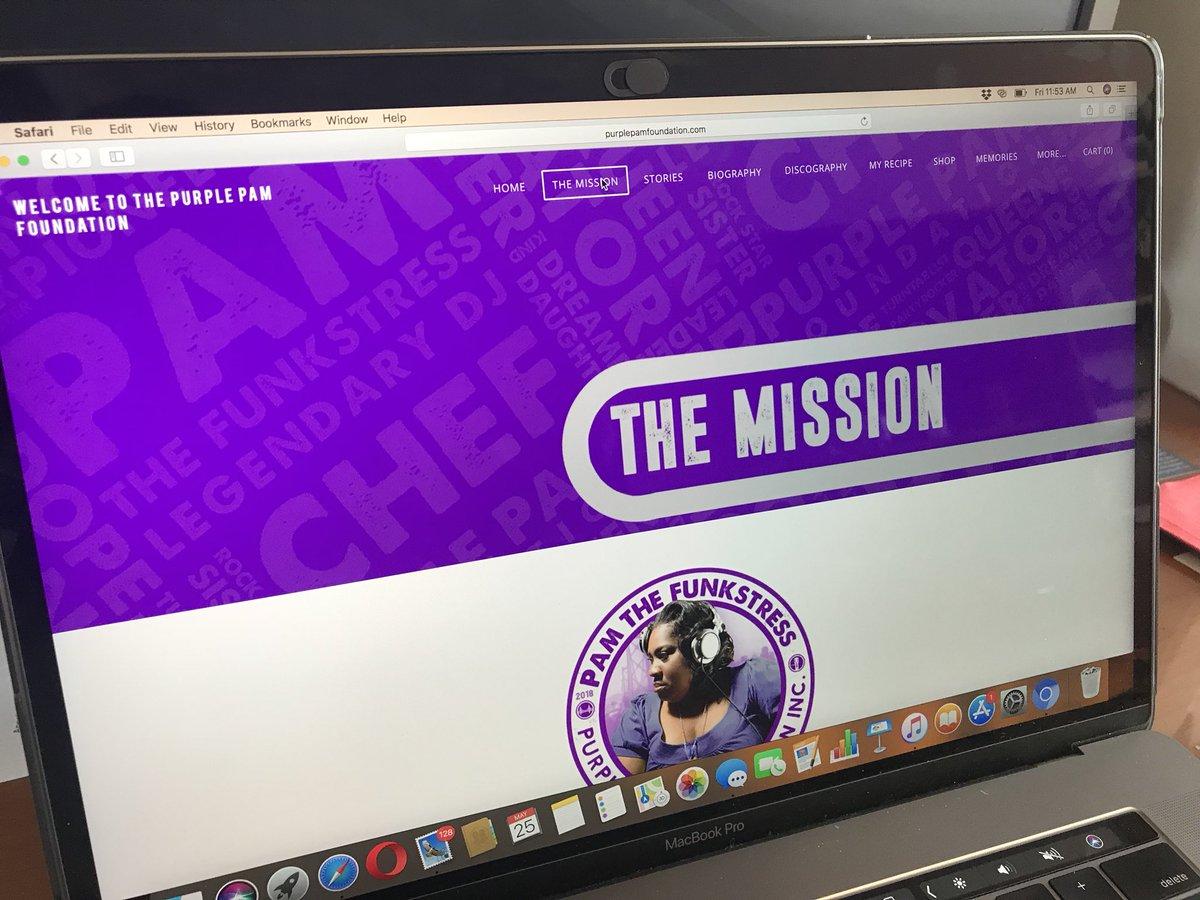 We are up! Thank u 4 your  http://www. purplepamfoundation.com  &nbsp;   @DrPostALot @djalexmejia @Beats4Hope @ChuyGomez<br>http://pic.twitter.com/dD7uSnfuTh