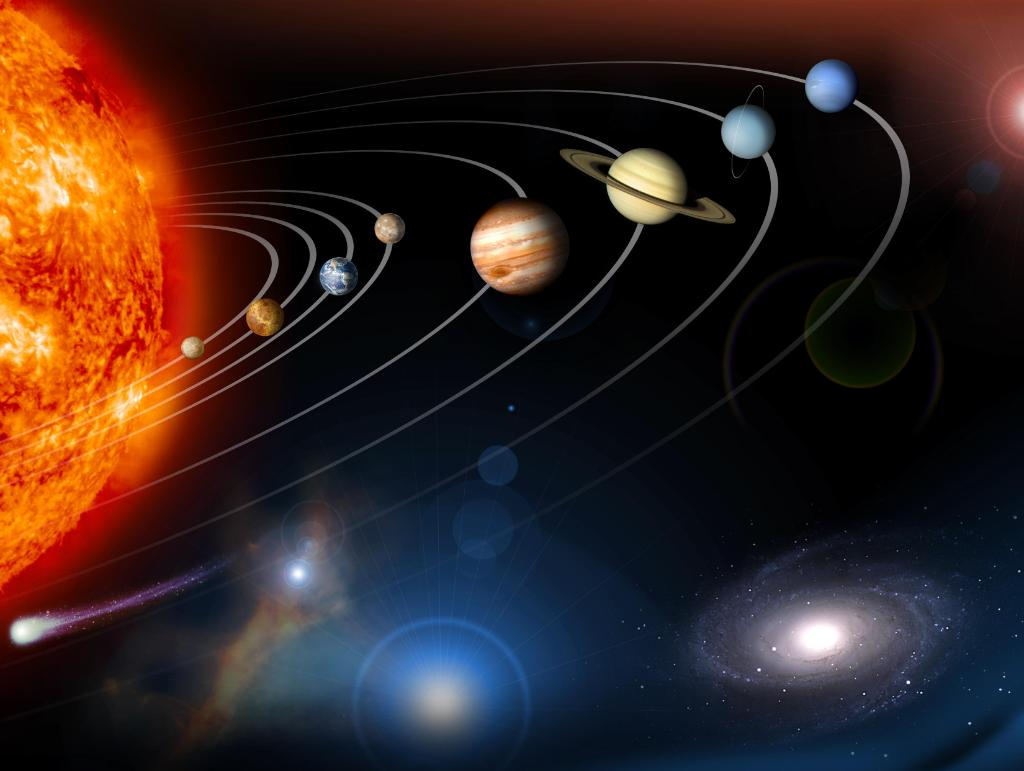 Big, small. Hot, cold. The 8 planets in our solar system differ in lots of ways, but 1 thing they have in common is shape. Why are planets round? A planet's gravity pulls equally from all sides, creating a sphere. See what other factors contribute: https://t.co/sorAsGaDlK