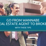 Go from Wannabe #realestate #Agent to #Broker.  We've got the steps outlined for you here. https://t.co/tl50BMXjTM