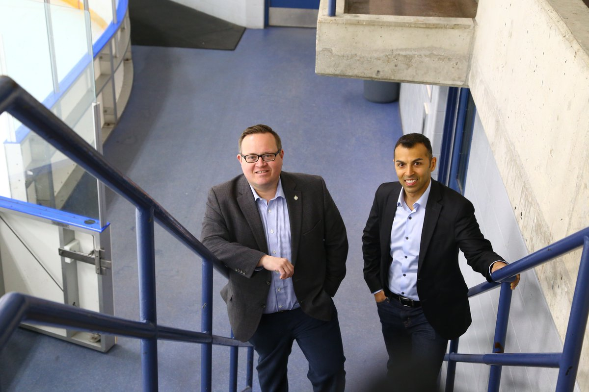 The Hespeler Arena new floors look great! @MarwanTabbaraMP and I visited the arena to see the completed project last week. This update is just one of the many infrastructure projects Cambridge has seen recently #BuildingOurCommunities<br>http://pic.twitter.com/1gVv3J5AKT
