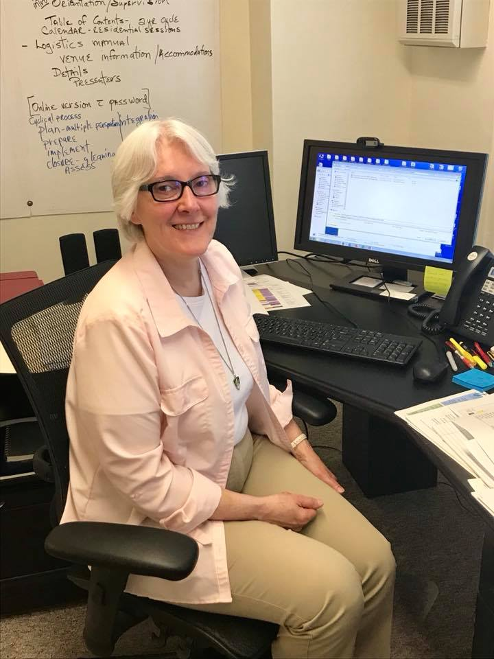 Connie Schoen, OP, Program Director, has been working hard on this year's #ForMission program. She is excited to convene the community next week!