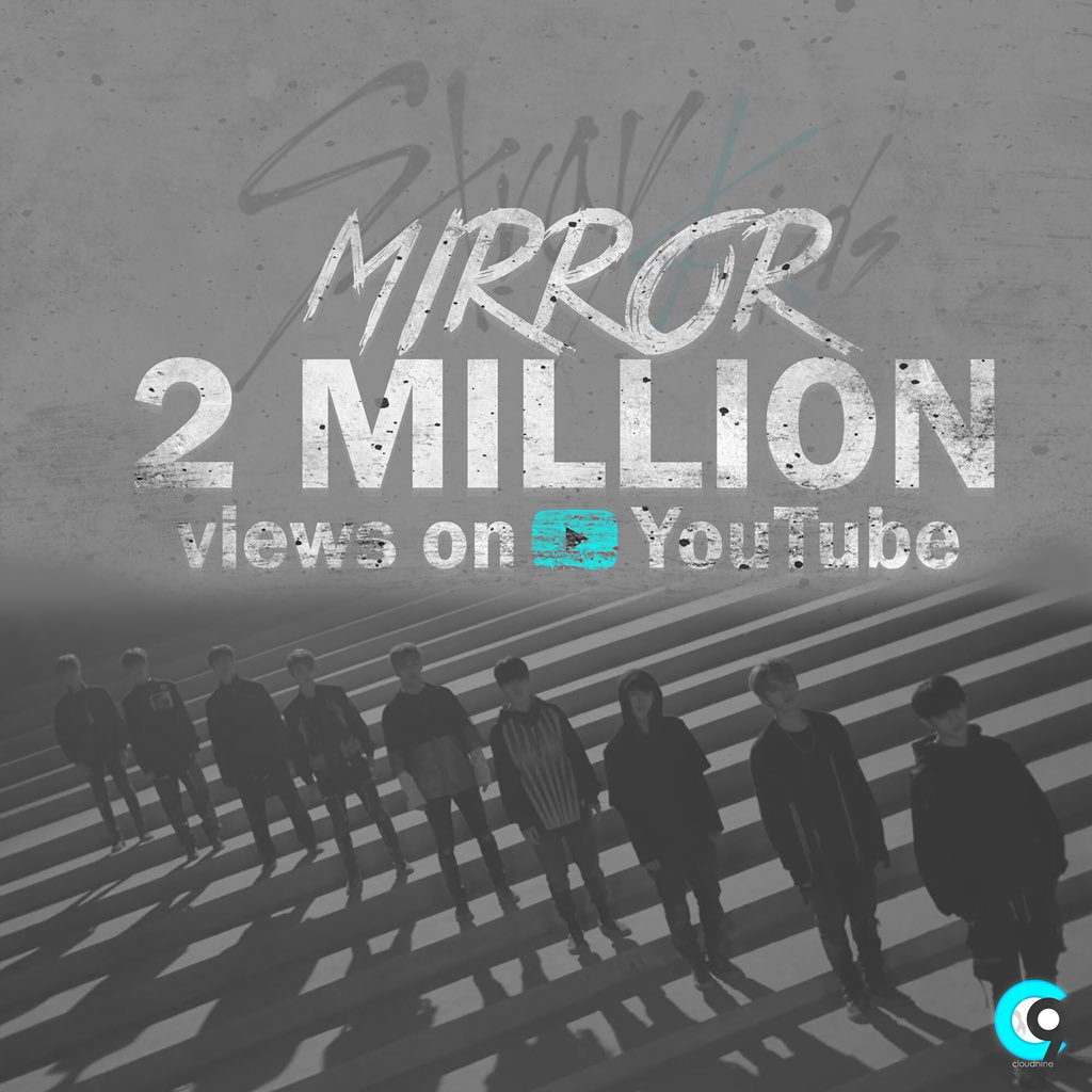 []  Mirror P/V has surpassed 2MILLION Views on YouTube!!   Congratulations, @Stray_Kids!!   #StrayKids #스트레이키즈<br>http://pic.twitter.com/6l51qVeDBm