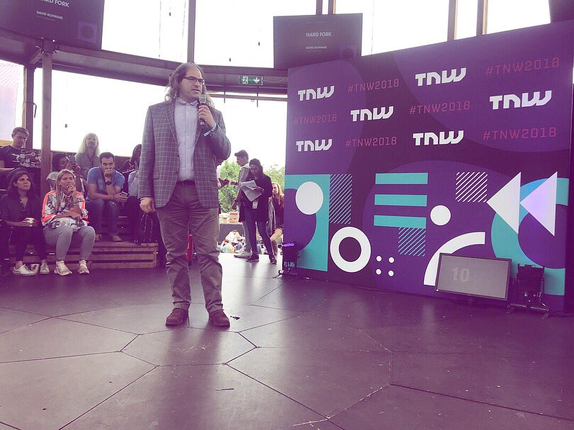 Thank you @TheNextWeb for the inspiration and @Startup_Adam for inviting us! We've met a lot of amazing people and are looking forward to next year!  Pleasure to meet you @JoelKatz @TimDraper @tonilanec @roxannevarza @saveFaris @noordende   #tnw2018 #blockchain #startup <br>http://pic.twitter.com/ROIswiXraN