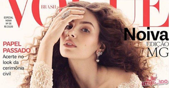 Camila Queiroz é capa da Vogue Noiva e dá detalhes sobre seu casamento! Saiba quem são os famosos que anunciaram que vão casar em 2018! https://t.co/JoVxMpfm1V