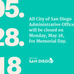 Image for the Tweet beginning: All City of San Diego
