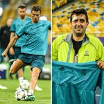 A @Cristiano shot in training led to a cameraman n...