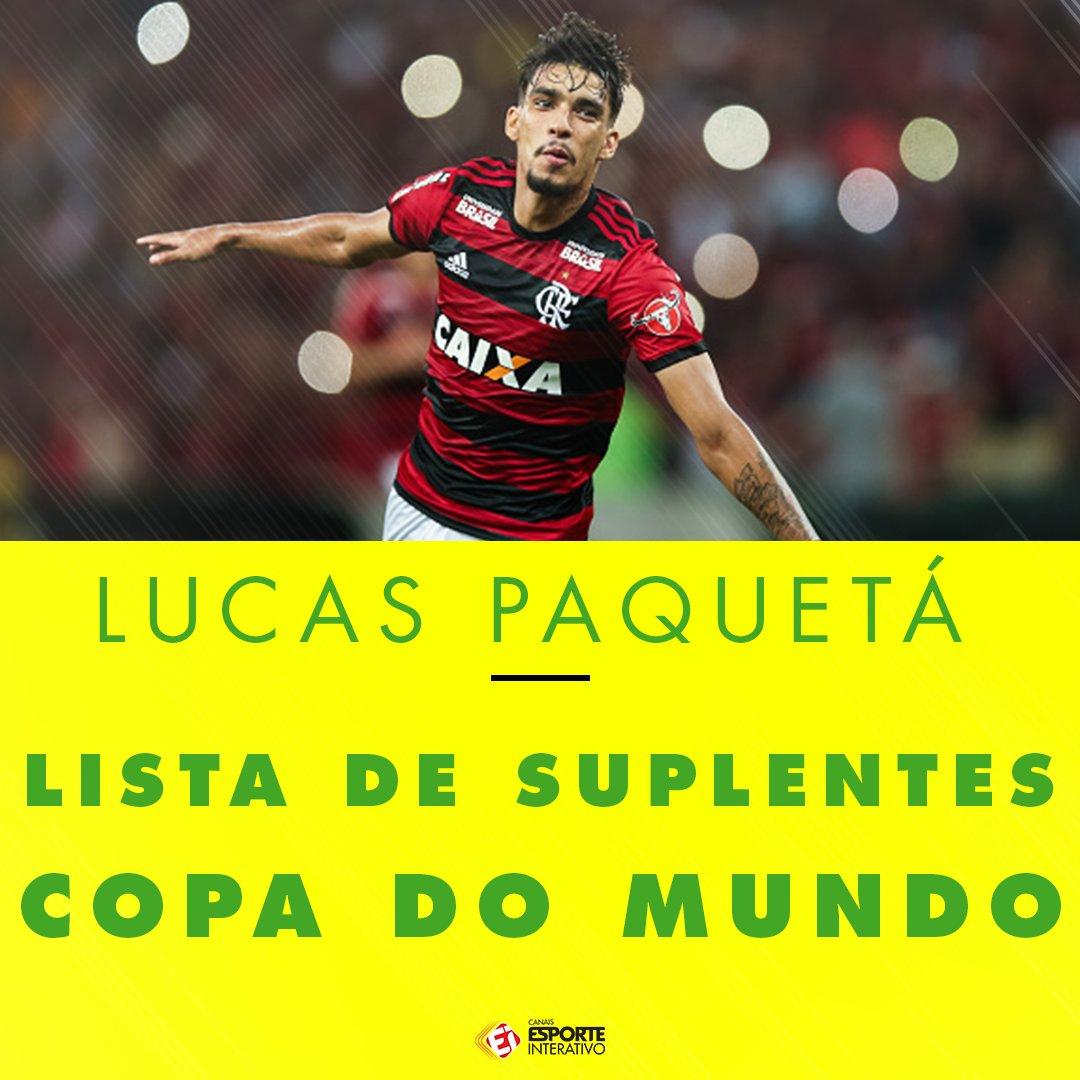 Lucas Paquetá está na lista de suplentes da Copa! Tem que respeitar o menino Paquetá!  Crédito: UOL