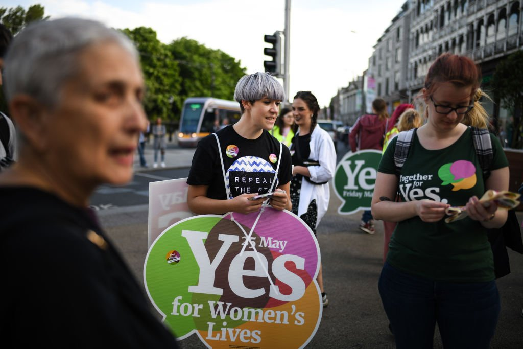 JUST IN: An exit poll signals that Ireland has voted to liberalize restrictive abortion laws https://t.co/568J6FRyg6