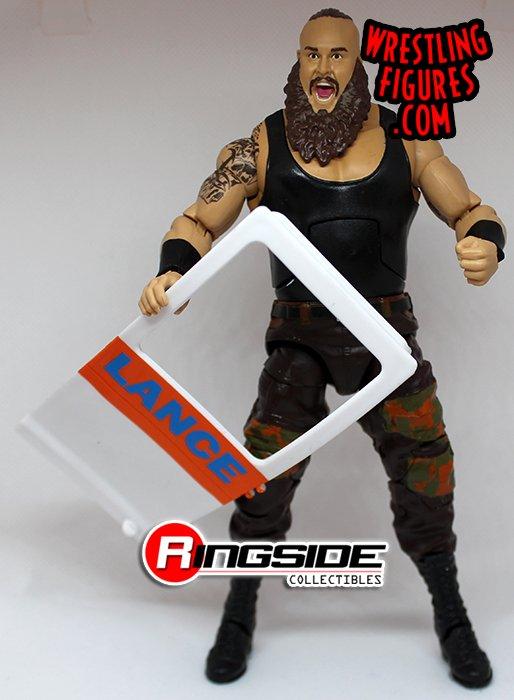 Mattel WWE Elite BRAUN STROWMAN Wrestling Figure Lot