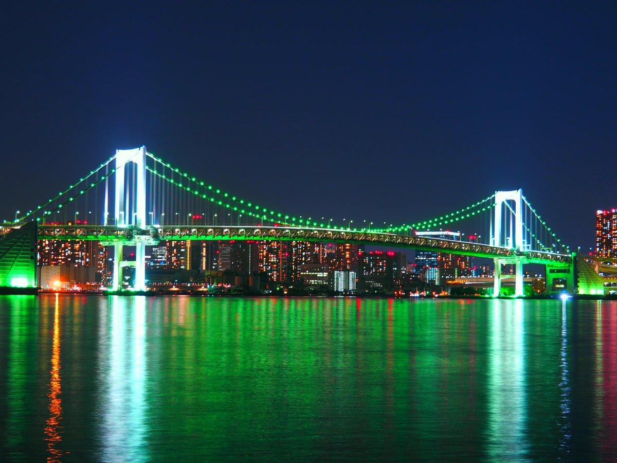 東京レインボーブリッジ夜景