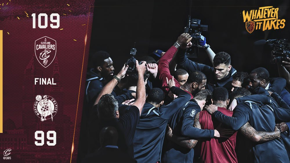 Amazing game! #Cavsin7 #WhateverItTakes