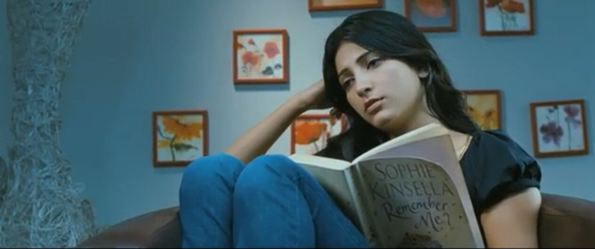 Books In Movies On Twitter Shruti Haasan S Character Reads Remember Me By Sophie Kinsella In The Song Po Nee Po From Aishwarya R Dhanush S 3 2012 Booksinmovies Https T Co D7udv1jxgw