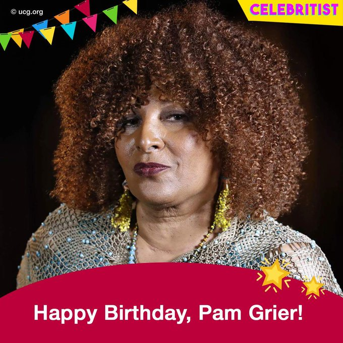 Happy Birthday to Pam Grier always down for her man.