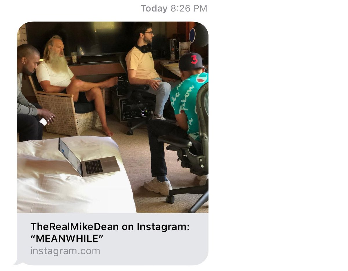 MEANWHILE.  🔄 @therealmikedean