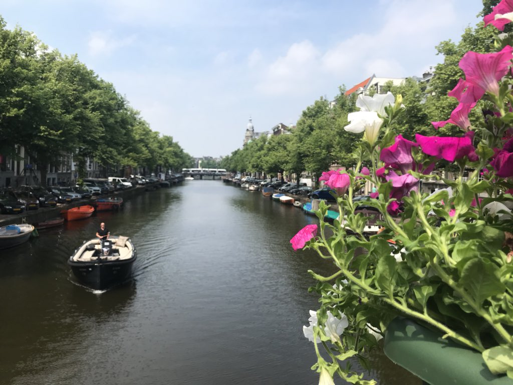 Don't want to leave! #Amsterdam has been amazing!pic.twitter.com/S2Mo1rMXuY