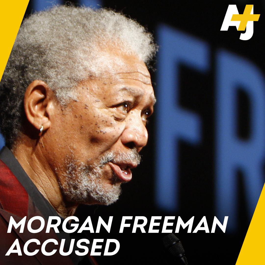 AJ+'s photo on Morgan Freeman