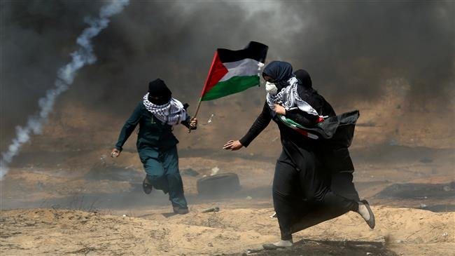 Israeli soldiers injure 109 Palestinian protesters with live fire, tear gas in Gaza ptv.io/2aLj #FreePalestine