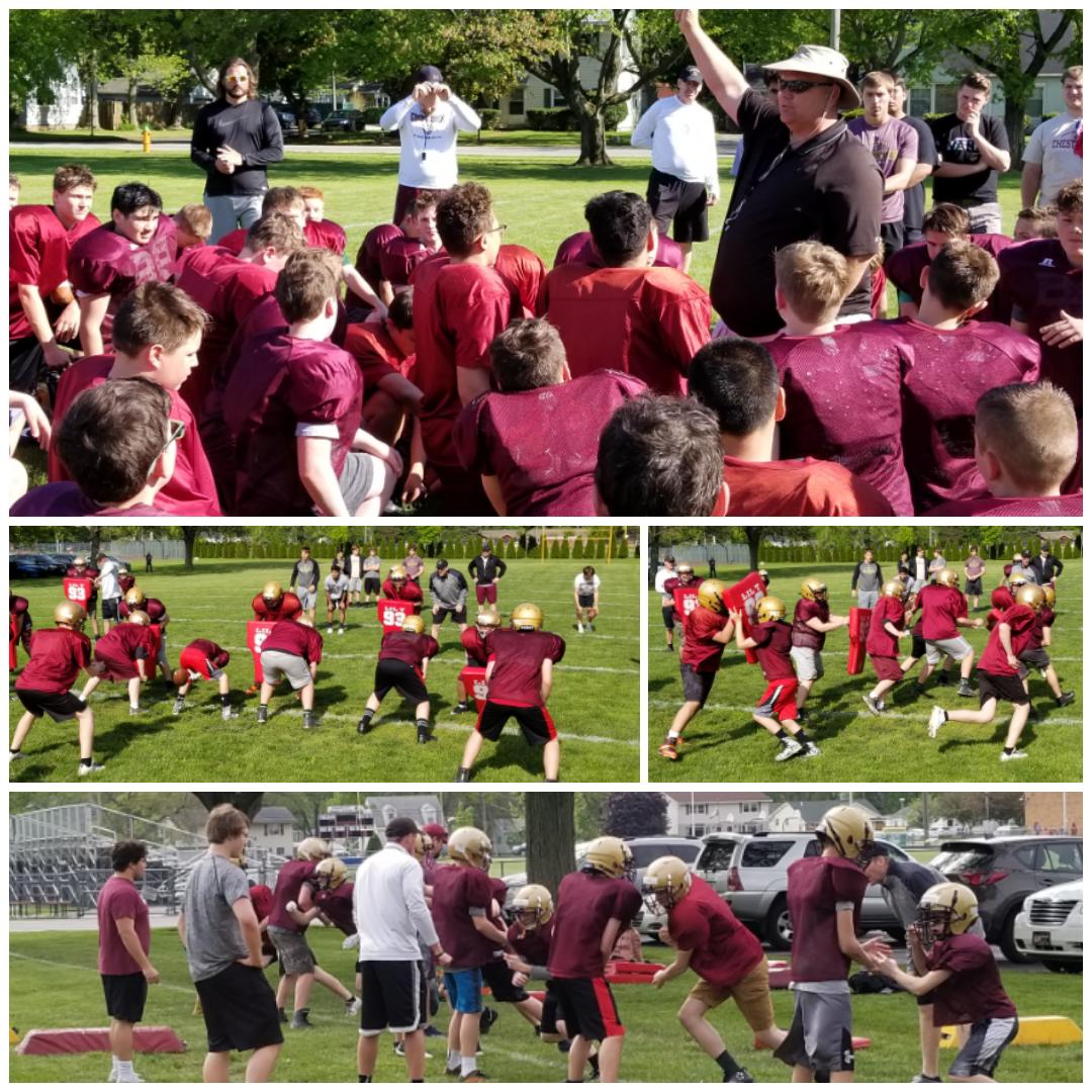 Highlights from CMS Team camp this week. #trojanpride #futuretrojans <br>http://pic.twitter.com/R6TtkyvVQh