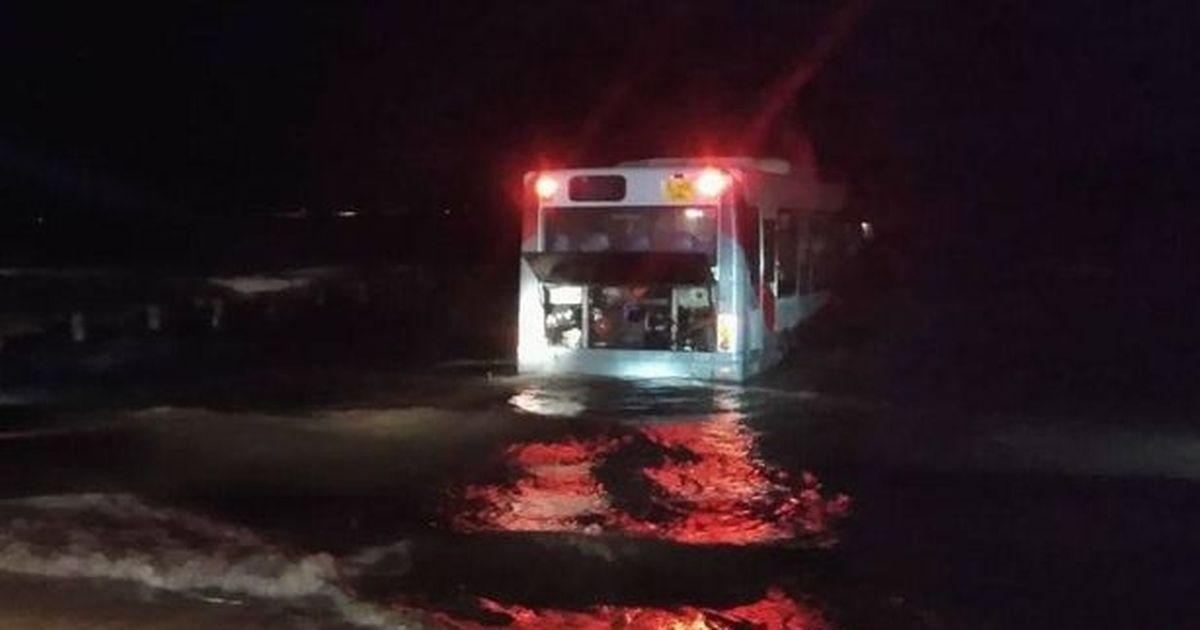 Joyrider stole a bus and drove it 40 miles before dumping it in the sea https://t.co/8Bgtvfmr3j