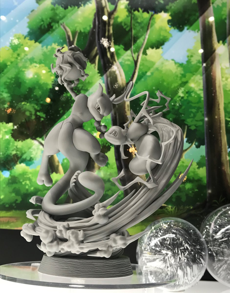 Pokeshopper Update : New Pokémon G.E.M MegaHouse prototypes revealed for the first time. Mew &amp; Mewtwo. Ash with Pikachu figurines  https:// Pokeshopper.com/news.html  &nbsp;  <br>http://pic.twitter.com/v1h1YlchkZ