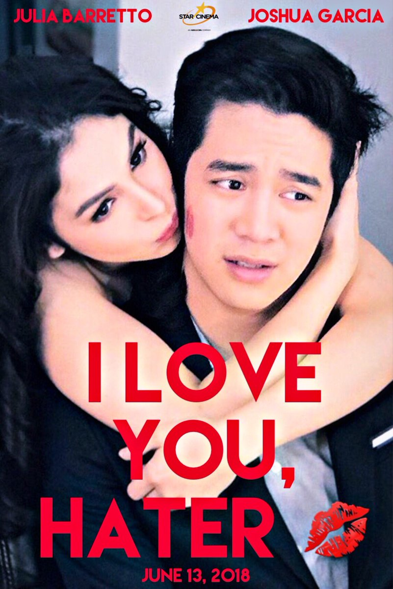 We all fell in love with Vince &amp; Kath, Caloy &amp; Mika, and Jason &amp; Yanni. Now it is Joko &amp; Zoey's time to capture our hearts in the new JoshLia romcom #ILoveYouHater coming very soon to theaters near you.  @BarrettoJulia @iamjoshuagarcia <br>http://pic.twitter.com/kPlsXOBKMC