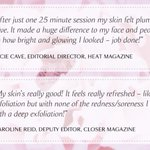 The SKN REHAB treatment menu offers something for everyone. In between SKN REHAB Signature facials, or when your skin needs a 'Quick fix' you can maintain your best skin yet with SKN REHAB express treatments! As loved by #Heat and #Closer magazine ✨💎