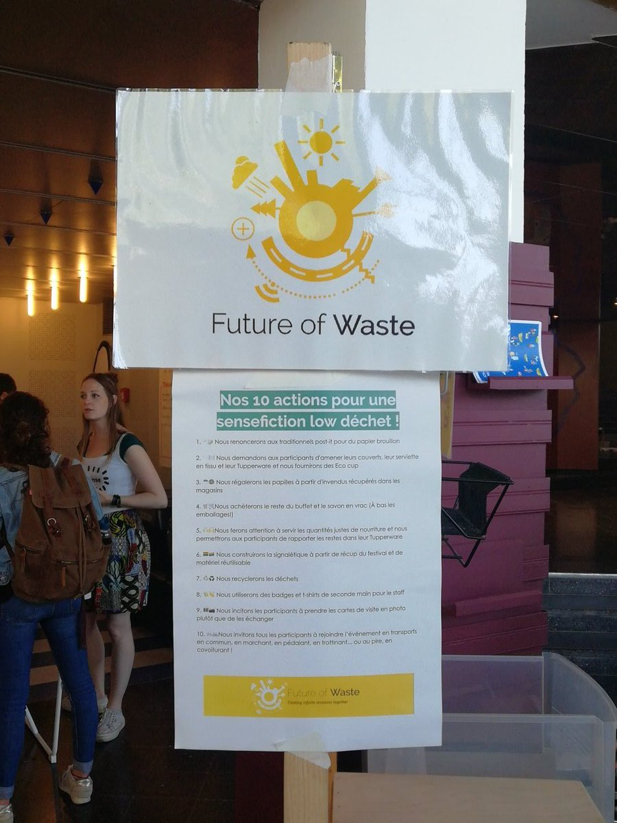 Future Of Waste On Twitter Nos 10 Engagements Pour Aujourdhui