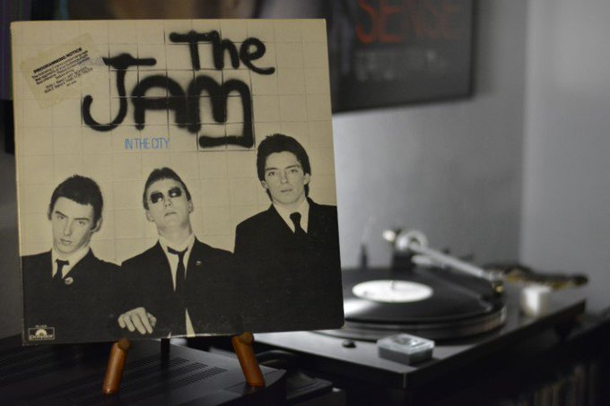 Happy Birthday to Paul Weller...  The Jam In The City 1977 White Label Promo
