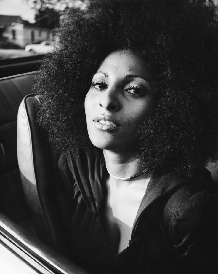 """""""I had to bump heads with many men in the industry. They were not comfortable with showing a progressive black female in an action role. As a strong woman, I was seen as a threat. I thought, 'We don't need to walk behind you, we should walk beside you.'"""" Pam Grier #borntoday"""