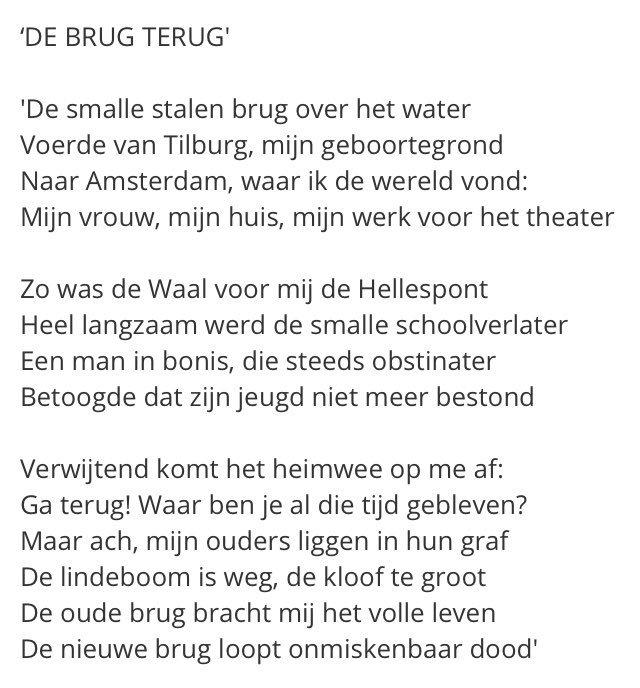 Reinder Storm على تويتر Op De Poëtische Plattegrond Van
