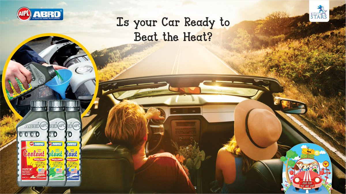 Aipl Abro On Twitter With Coolant In Your Cars Engine Brown You Can Let Car Beat The Heat While Family Enjoys Ride