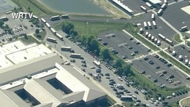 Student says teacher swatted gun away, tackled the suspect at Indiana middle school https://t.co/DNb7dD62G8
