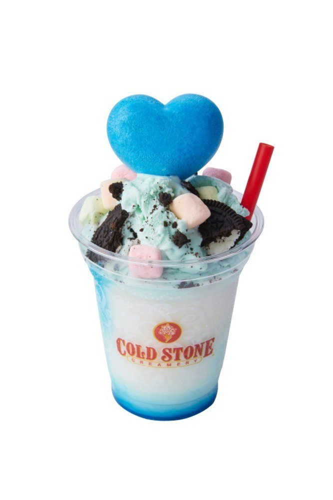 コールドストーン×パワーパフ ガールズの限定デザートドリンク、ベリーやミントのアイス&ハート型最中 -